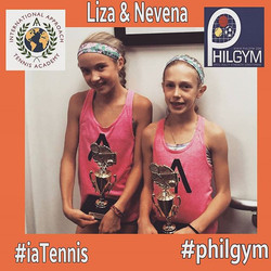 Congratulations Liza & Nevena for getting 2nd place in the Empire Cup National Doubles at Point Set