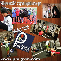"Dear tennis players!  Winter is almost here!""Philgym-mobile"" program starts at winter time !!! We ca"