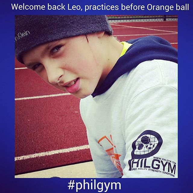 Welcome back Leanid Boika!!! Leo  start taking private sessions with Philgym to improve athletic ski