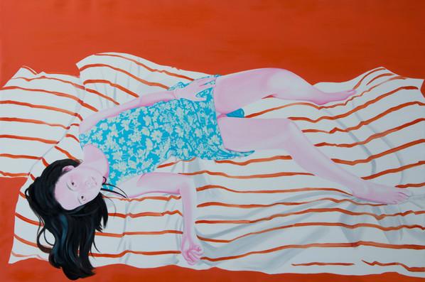 Sans titre 2015 Huile sur toile /oil on canvas 130x195 cm