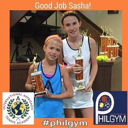 Bogota Finalist Goog job Sasha #Philgym  #iatennis  @iatennis @philgym