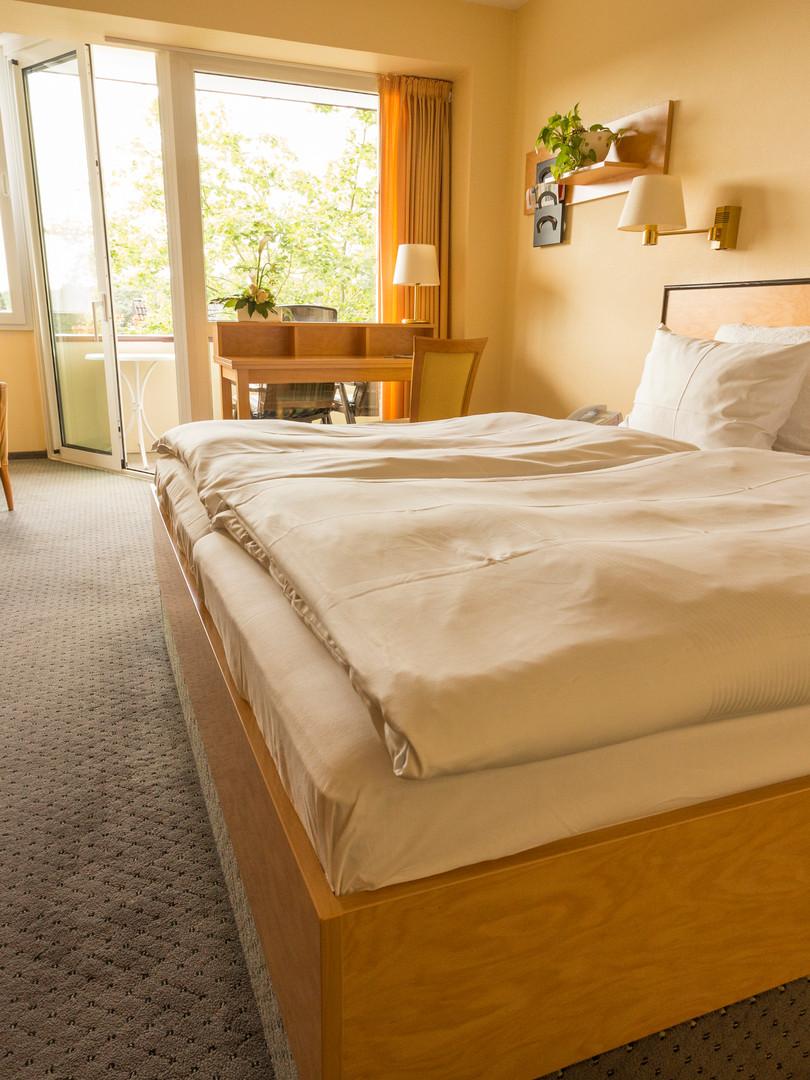 Ansicht eines Komfort-Doppelzimmers