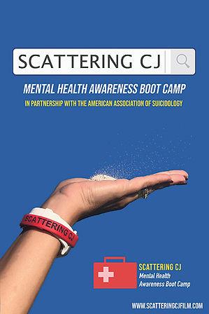 Mental Health Awareness Boot Camp poster