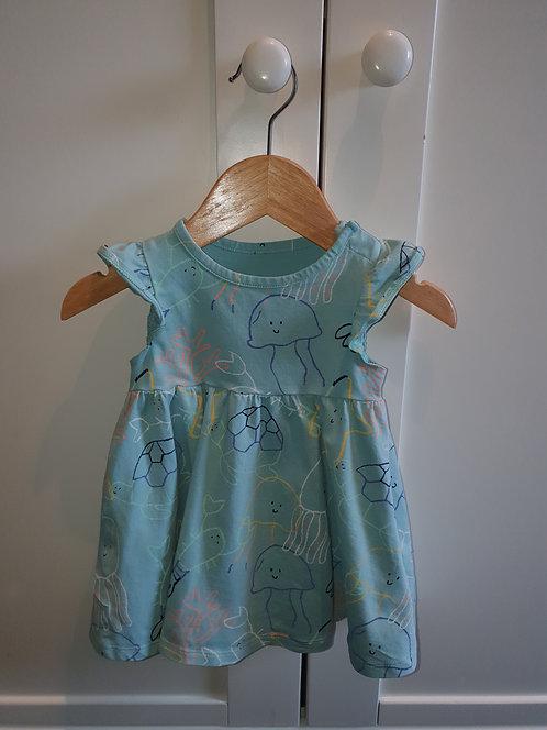 3 to 6 mths sea theme m & s dress