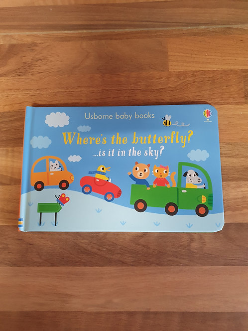 Usborne wheres the butterfly book