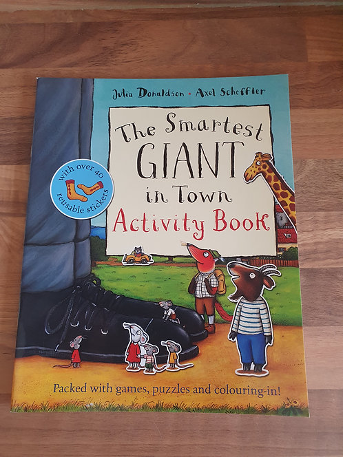 The smartest giant in town  activity book new
