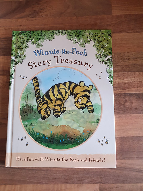 Winnie the pooh story treasury book