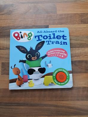 Bing toilet book