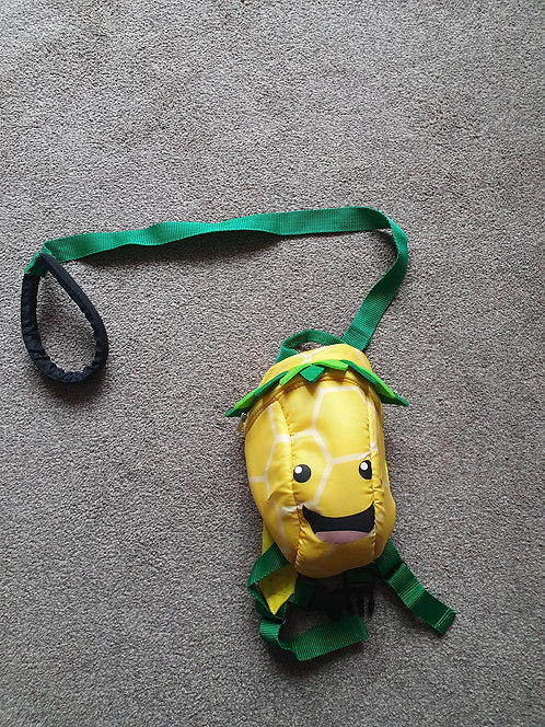 Yellow reins backpack