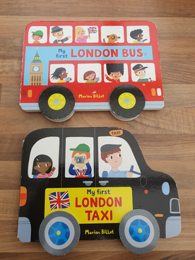 My first London / taxi books