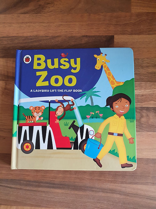Busy zoo book