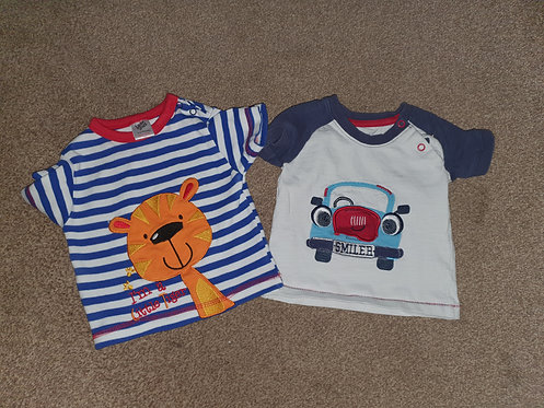3 to 6 mths t shirts