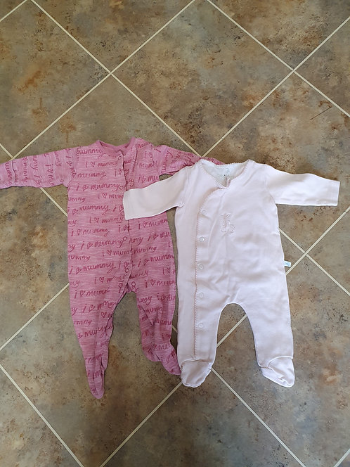 3 to 6 mths s/suits x 2