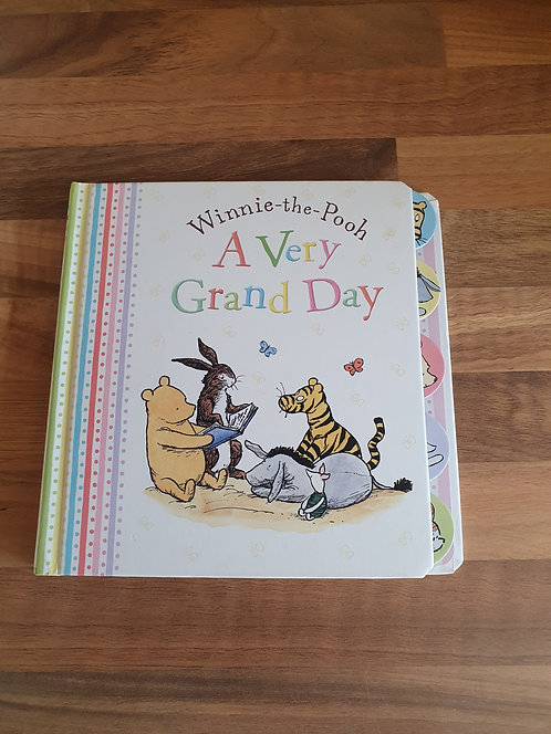 Winnie the pooh a very grand day book