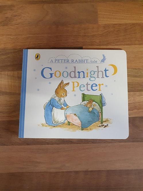Peter rabbit goodnight Peter book
