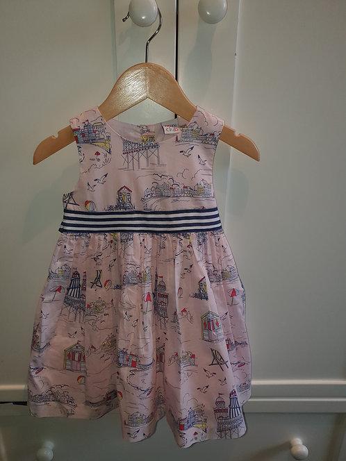 12 to 18 mths beach theme mini club dress