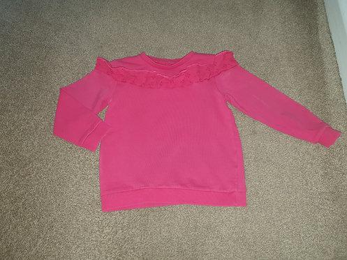 5 to 6 years dark pink jumper