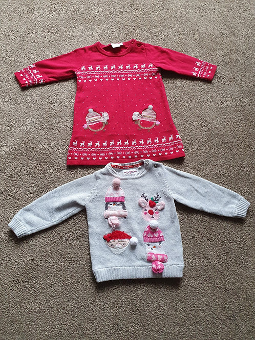 3 to 6 mths Christmas clothes