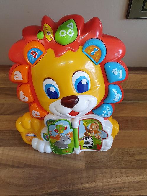 Baby clementoni lion toy