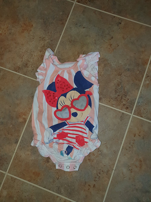 6 to 9 mths Minnie mouse vest