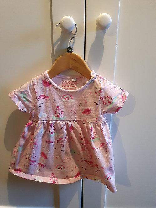 3 to 6 mths  bluezoo unicorn dress