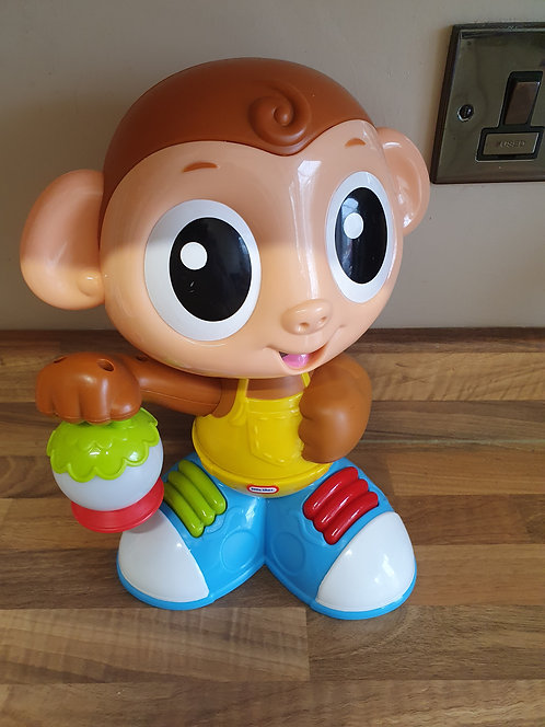 Little tikes dancing monkey