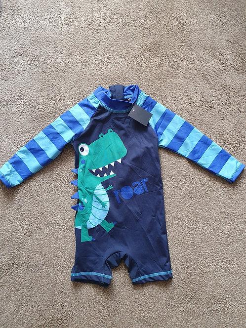 6 to 9 mths BNWT dinosaur swimwear