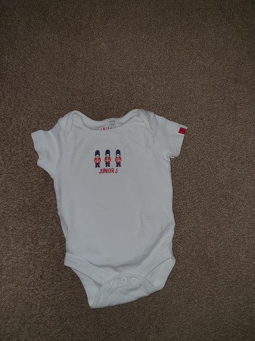 3 to 6 mths junior j soldier vest