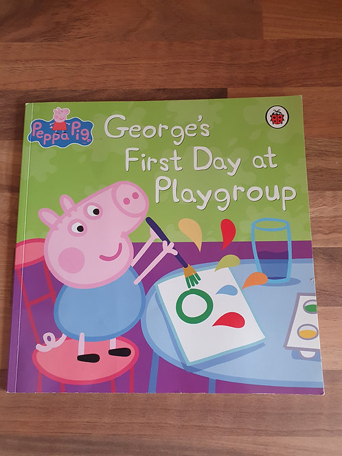 Georges first day at playgroup book