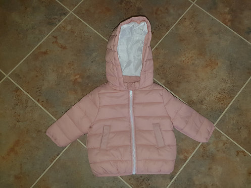 0 to 3 mths pink coat