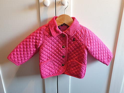 3-6m Joules coat