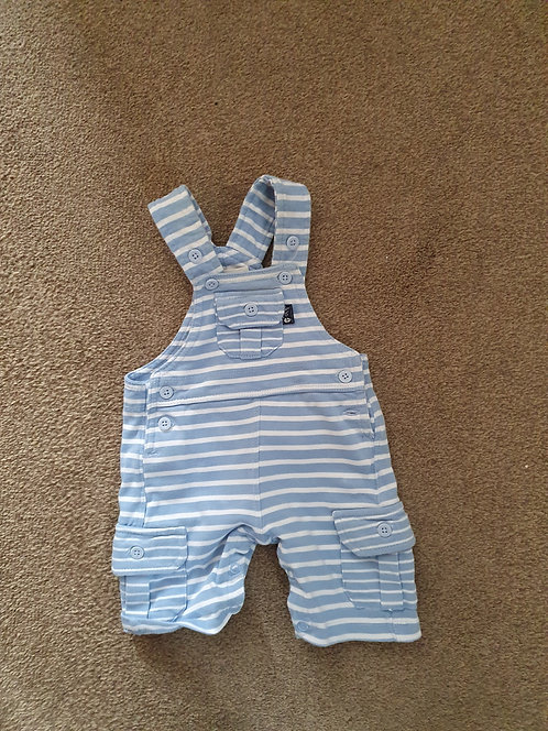 0 to 3 mths jo jo blue dungarees