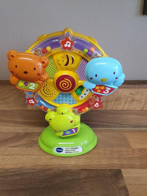 V tech spinning wheel highchair toy