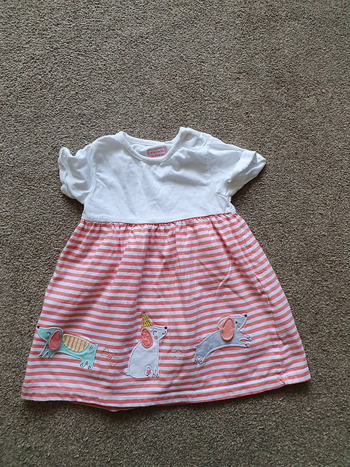 6 to 9 mths bluezoo dress
