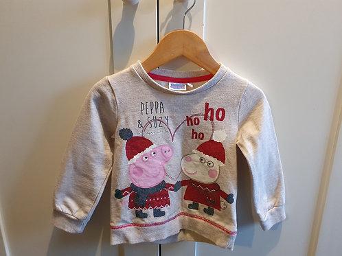 12 to 18 mths peppa pig Christmas jumper