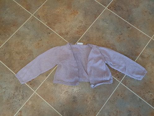 12 to 18 mths  purple cardigan