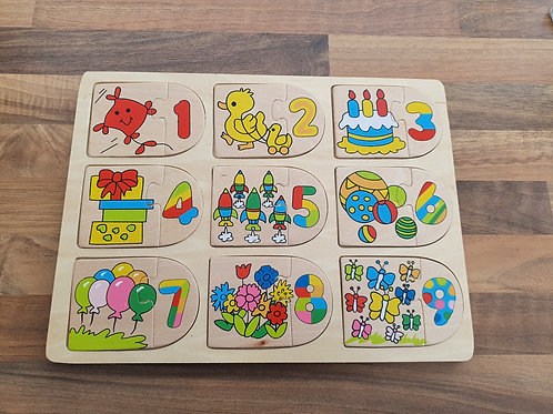 Bigjigs wood puzzle
