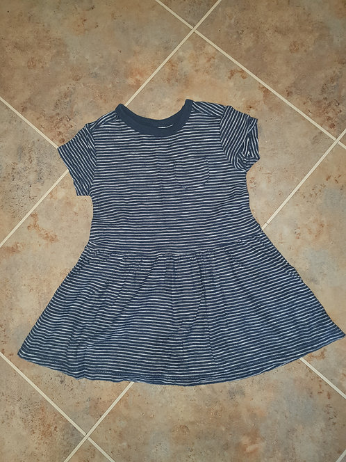 12 to 18 mths black stripey dress