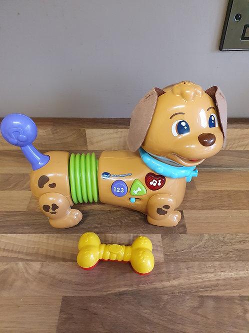 V tech walk and wiggle pup