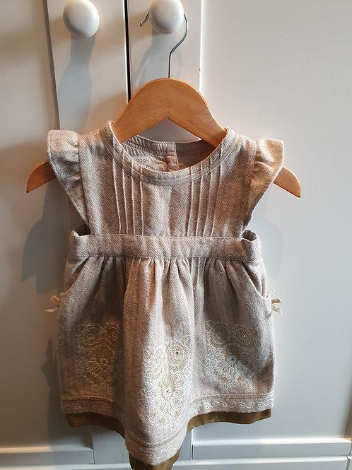 6-12m Monsoon owl dress