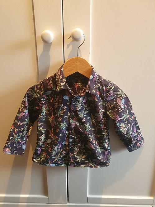 9 to 12 mth next flowery shirt