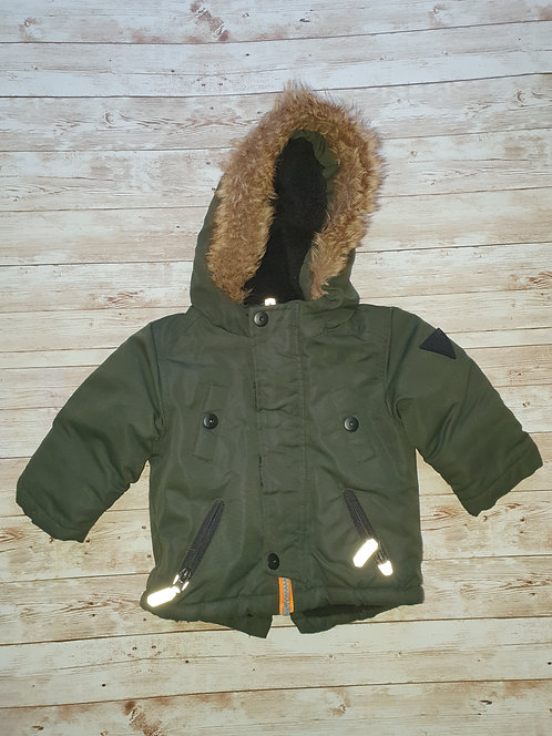 3 to 6 mths green winter coat