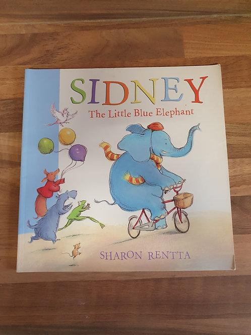 Sidney the little blue elephant book