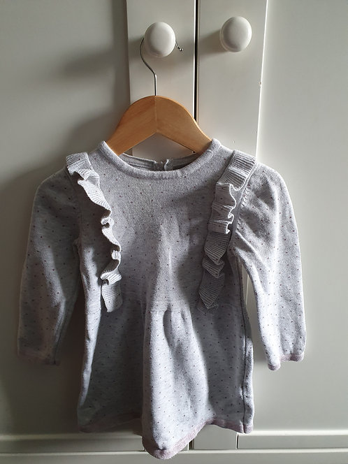 18 to 24 mths primark grey dress