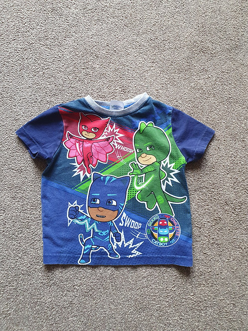 2 to 3 years pj masks t shirt small size