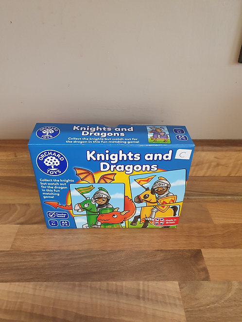 Knights and dragons orchard game
