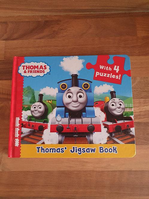 Thomas the tank jigsaw book