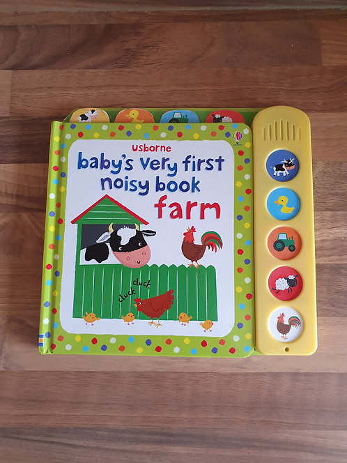 Usborne babys very first noisy book