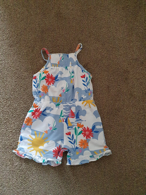12 to 18 mths seaside theme short outfit