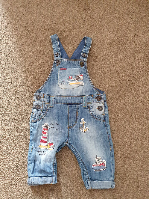 0 to 3 mths next summer dungarees